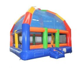 Giant Inflatable Bounce House, Rainbow