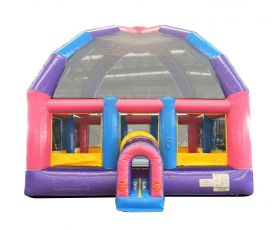 Giant Inflatable Bounce House, Pink
