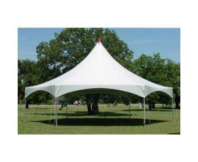 40' X 40' Hexagonal High Peak Commercial Frame Tent