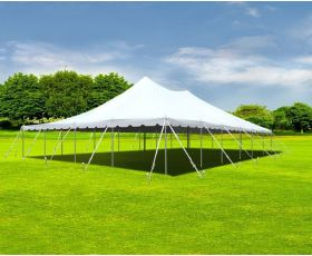 40' X 60' Aluminum Sectional Pole Tent - White