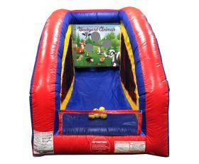Inflatable Air Frame Game, Backyard Animals