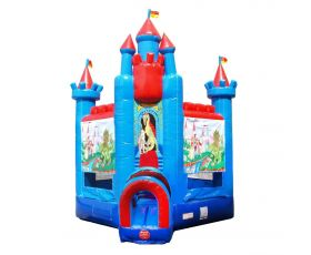 Deluxe Inflatable Bounce House, Brave Knight