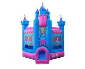 Deluxe Inflatable Bounce House, Princess