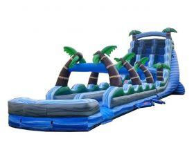 Double Lane Inflatable Water Slip n' Slide, Tropical Marble
