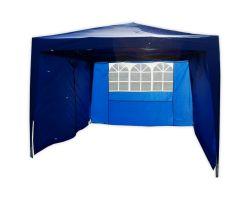 10' x 10' Basic Pop-Up Party Tent - Blue