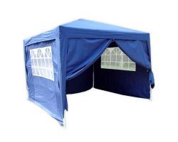 10' x 10' Basic Pop-Up Party Tent - Navy Blue
