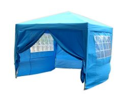 10' x 10' Basic Pop-Up Party Tent - Sky Blue