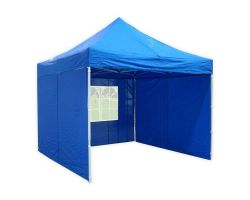 10' x 10' Deluxe Pop-Up Party Tent - Blue