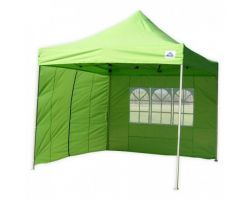 10' x 10' Premium Pop-Up Party Tent - Emerald