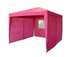 10' x 10' Basic Pop-Up Party Tent - Pink
