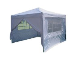10' x 10' Basic Pop-Up Party Tent - White