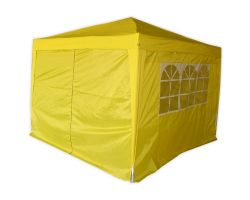 10' x 10' Basic Pop-Up Party Tent - Yellow