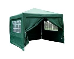 10' x 10' Basic Pop-Up Party Tent - Green
