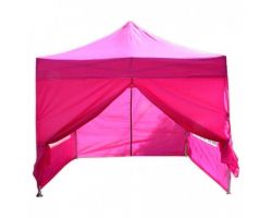 10' x 10' Premium Pop-Up Party Tent - Pink