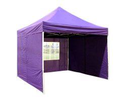 10' x 10' Deluxe Pop-Up Party Tent - Purple
