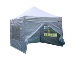 10' x 10' Premium Pop-Up Party Tent - White