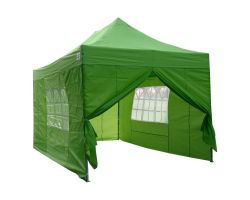10' x 15' Deluxe Pop-Up Party Tent - Emerald