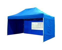 10' x 15' Deluxe Pop-Up Party Tent - Blue