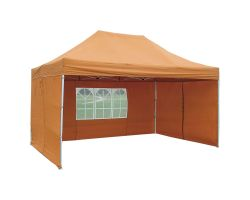 10' x 15' Premium Pop-Up Party Tent - Burnt Orange