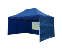 10' x 15' Deluxe Pop-Up Party Tent - Navy Blue