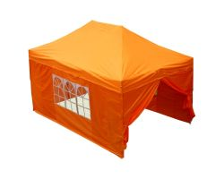 10' x 15' Deluxe Pop-Up Party Tent - Orange