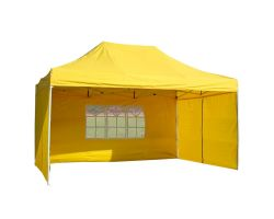 10' x 15' Deluxe Pop-Up Party Tent - Yellow