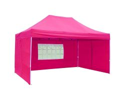 10' x 15' Premium Pop-Up Party Tent - Pink