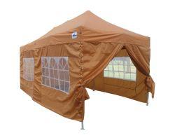 10' x 20' Deluxe Pop-Up Party Tent - Burnt Orange