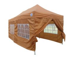 10' x 20' Premium Pop-Up Party Tent - Burnt Orange