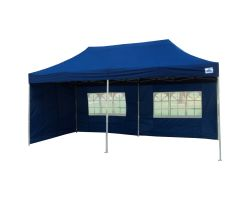 10' x 20' Deluxe Pop-Up Party Tent - Navy Blue