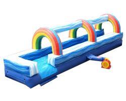 25' Inflatable Water Slip n' Slide, Blue Marble