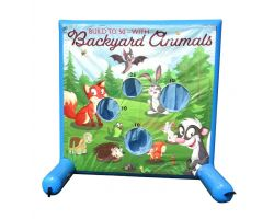 Sealed Air Inflatable Frame Game, Backyard Animals