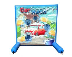 Sealed Air Inflatable Frame Game, Car Wash