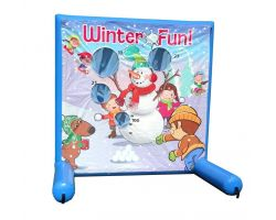 Sealed Air Inflatable Frame Game, Winter Fun
