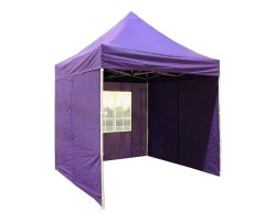 8' x 8' Basic Pop-Up Tent - Purple