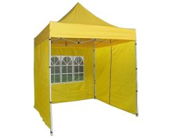 8' x 8' Basic Pop-Up Tent - Yellow