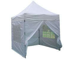 8' x 8' Basic Pop-Up Tent - White