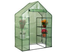 8 Shelves Walk-In Greenhouse