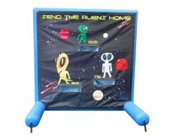 Sealed Air Inflatable Frame Game, Send the Aliens Home