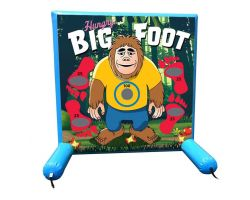 Sealed Air Inflatable Frame Game, Hungry Big Foot