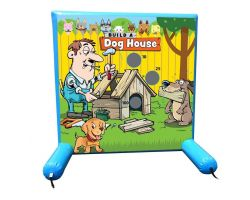 Sealed Air Inflatable Frame Game, Build-A-Dog House
