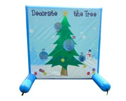 Sealed Air Inflatable Frame Game, Decorate the Tree