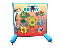 Sealed Air Inflatable Frame Game, Feed Your Belly