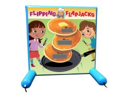 Sealed Air Inflatable Frame Game, Flipping Flapjacks