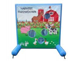 Sealed Air Inflatable Frame Game, Harvest Throwdown
