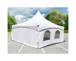 10' X 20' Commercial High-Peak Frame Tent