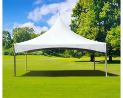 10' X 20' Commercial High Peak Tent - White