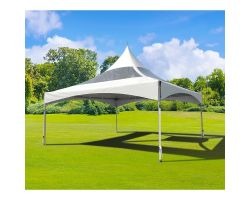 20' X 20' Commercial High-Peak Frame Tent (Multiple Colors)