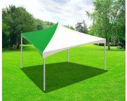 20' X 20' Commercial High Peak Tent - Green Solid