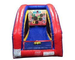 Inflatable Air Frame Game, Feed Your Belly